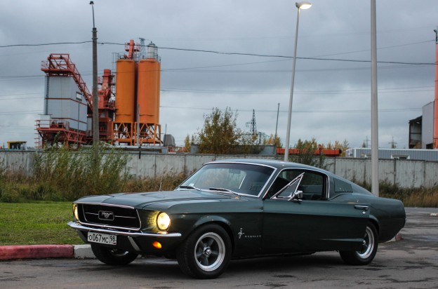 Ford Mustang 67 Fastback